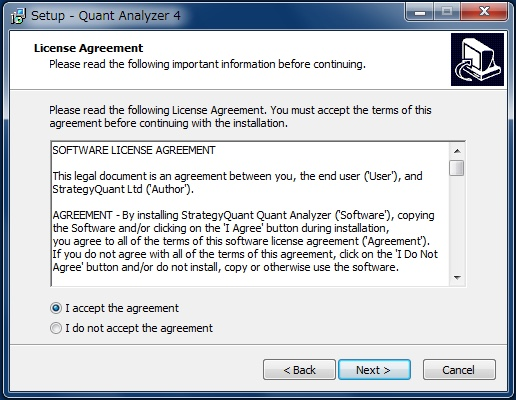 Quant Analyzer